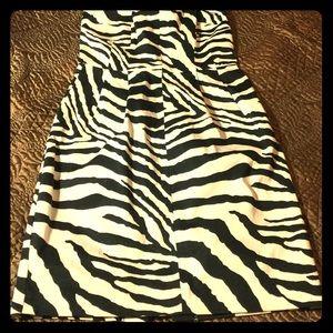 Dresses & Skirts - Express Zebra Print Dress
